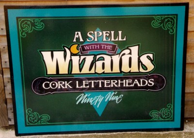 Panel from Cork letterheads in 1999