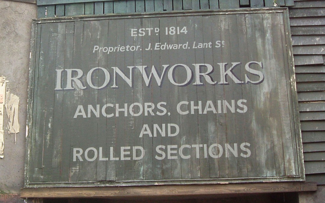 Aged Signs for Film Production